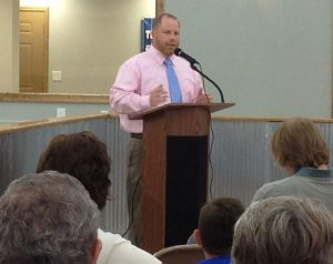 Daniel Speaking
